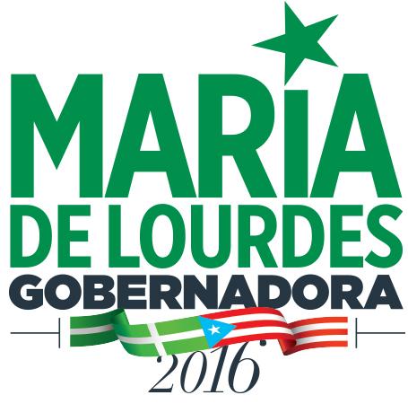 LOGO MARIA DE LOURDES GOBERNADORA
