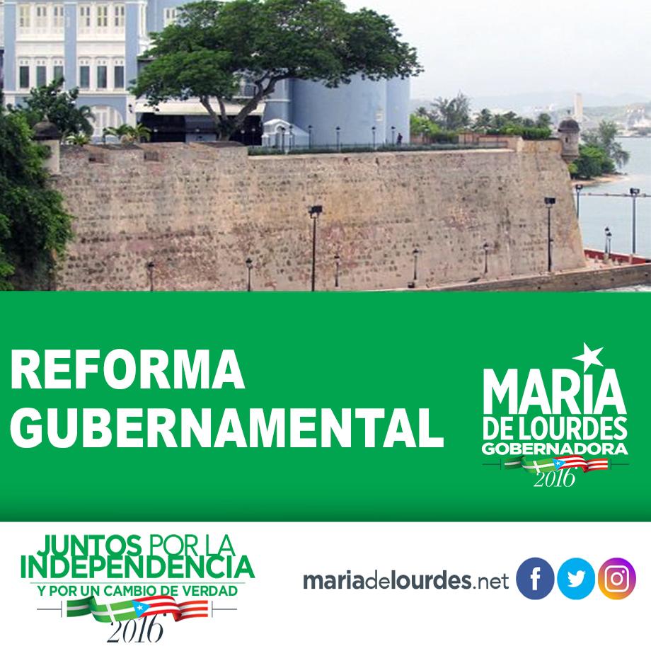 reforma gubernamental
